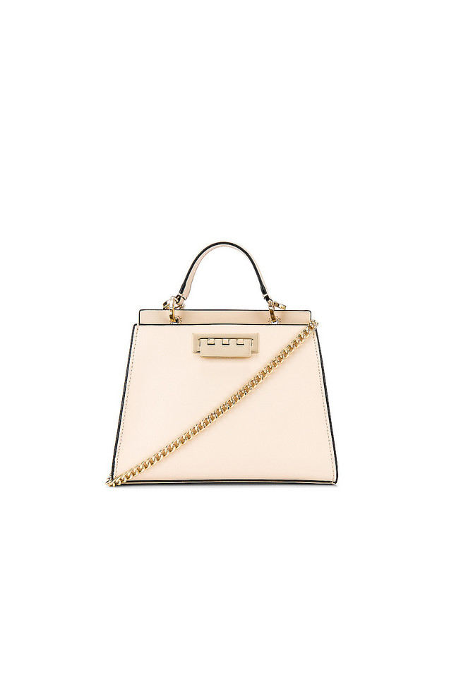 Zac Zac Posen Earthette Double Compartment Mini Bag in ivory