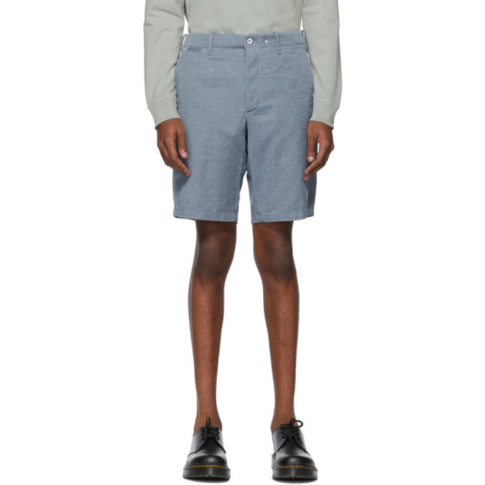 rag and bone rag & bone Blue Base Shorts