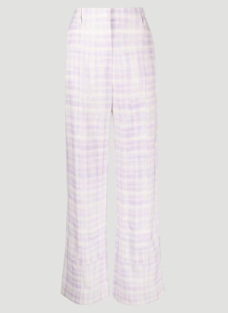 Jacquemus Le Pantalon Estero Pants in Lilac size FR - 36