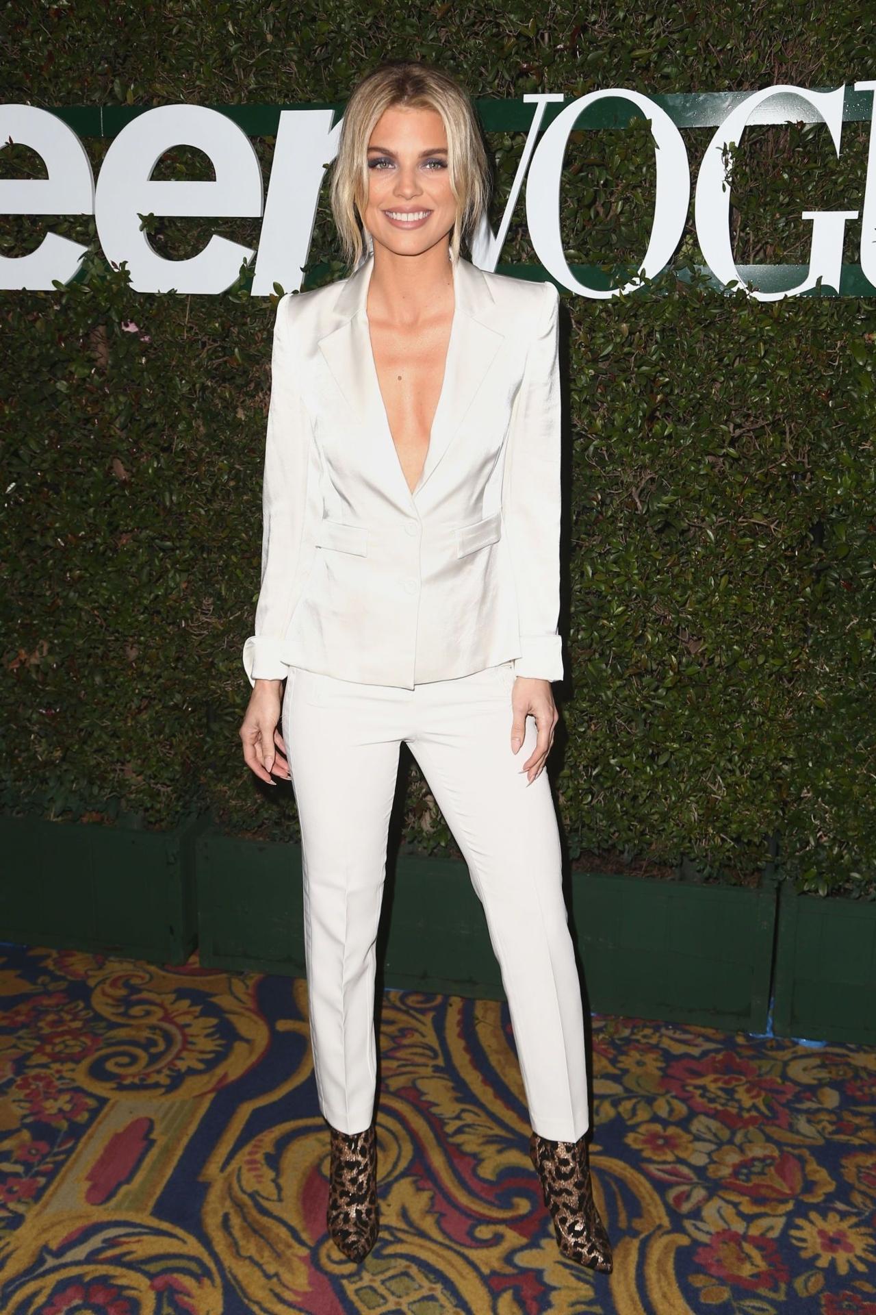 jacket pants white blazer blazer suit celebrity annalynne mccord