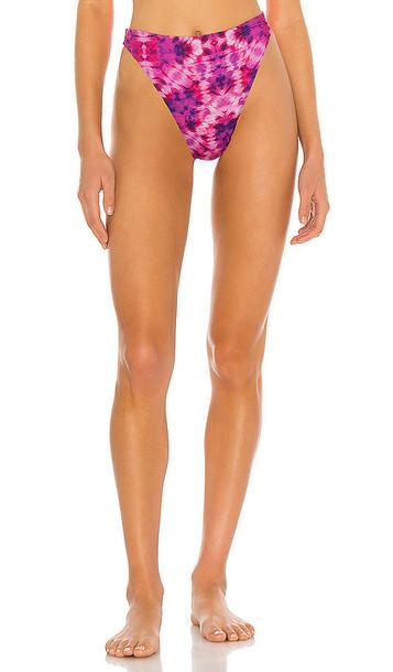 BEACH RIOT Beach Bikini Bottom in Pink