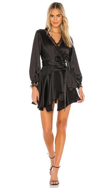 Lovers + Friends Lovers + Friends The Nadeen Mini Dress in Black