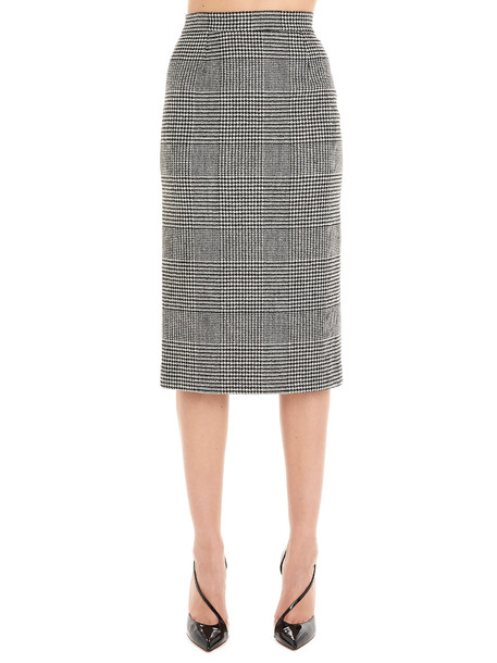 Ermanno Scervino Skirt in black / white