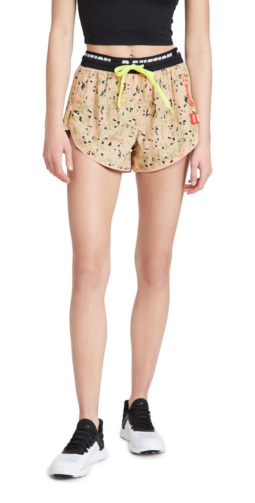 P.E NATION Align Camo Shorts in print