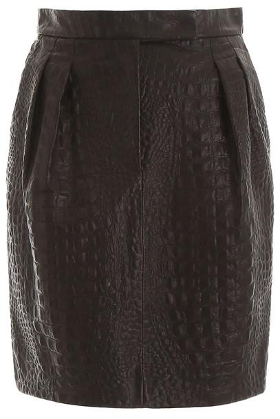 Max Mara Manila Skirt in black