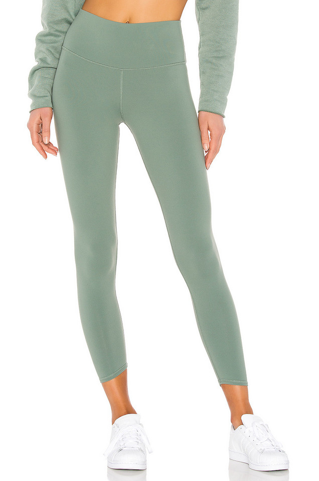 alo 7/8 High Waist Airbrush Legging in green