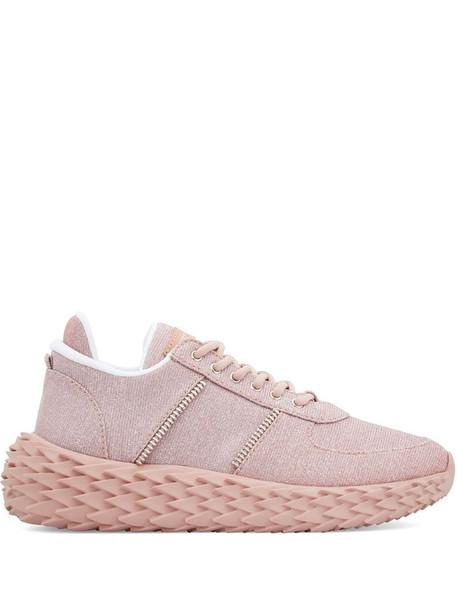 Giuseppe Zanotti Urchin low-top sneakers in pink