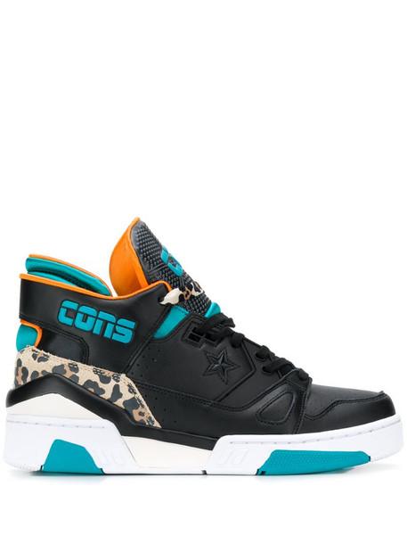Converse ERX 250 mid-top sneakers in black
