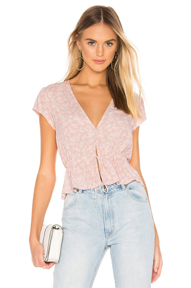ROLLA'S Lula Blouse in pink