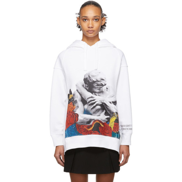 Valentino White Undercover Edition Lovers Hoodie