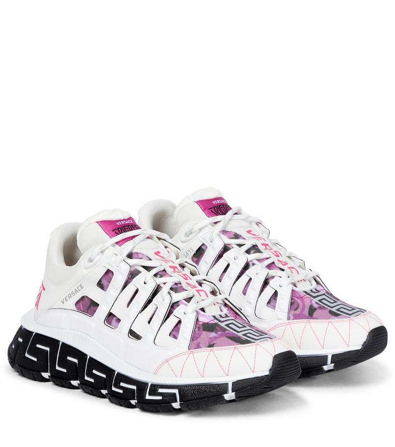 Versace Trigreca sneakers in white