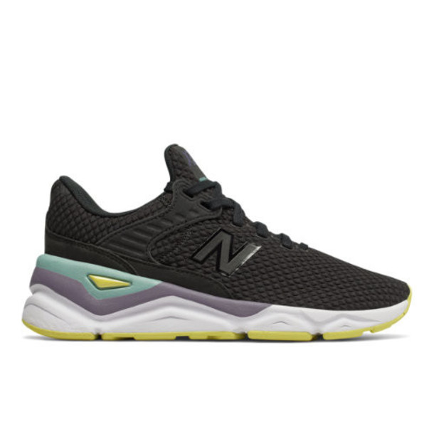 New Balance X-90 Women's Sport Style Shoes - Black/Yellow (WSX90CLD)