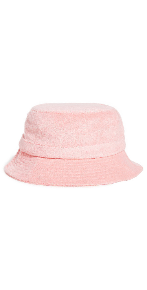 WAYF Bucket Hat in rose