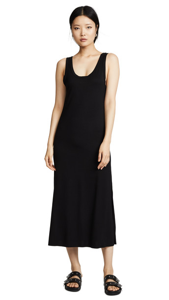 LNA Cecilia Dress in black