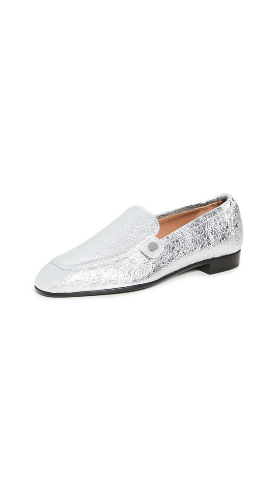 Laurence Dacade Angela Loafers in silver