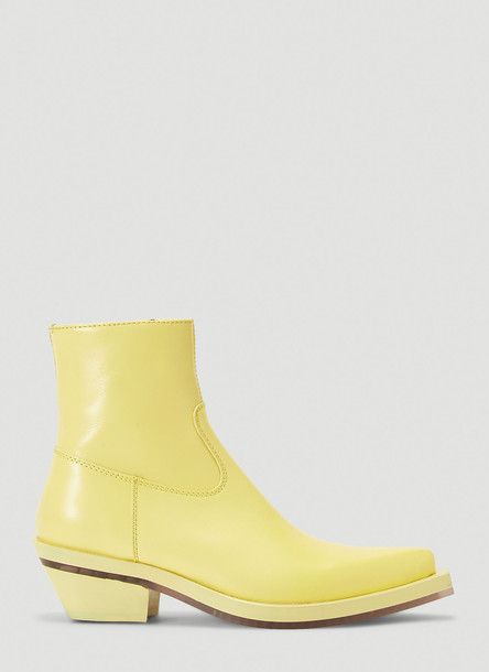 Ion Cowboy Boots in Yellow size EU - 38
