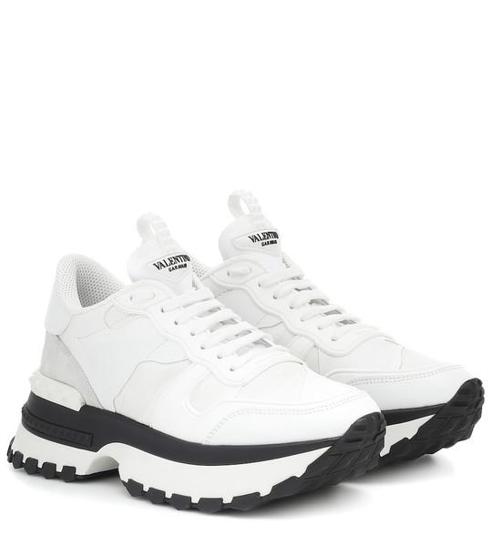 Valentino Garavani Rockrunner sneakers in white