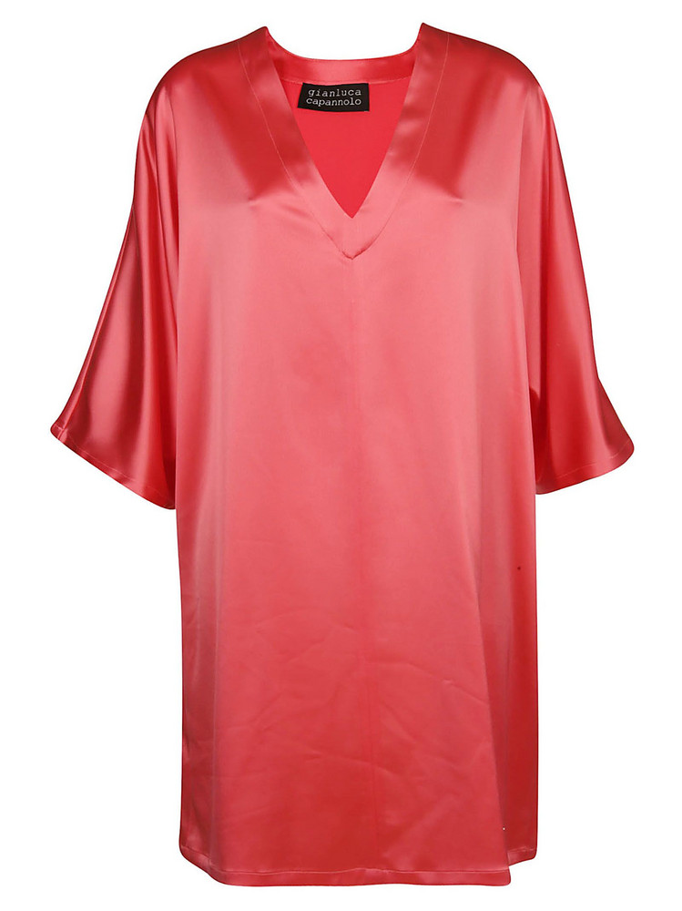 Gianluca Capannolo Flared Dress in pink