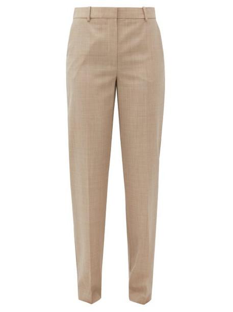 Roksanda - Livio Straight-leg Wool Trousers - Womens - Beige