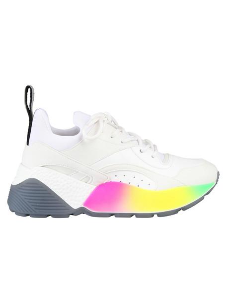Stella Mccartney Rainbow Sneakers in white
