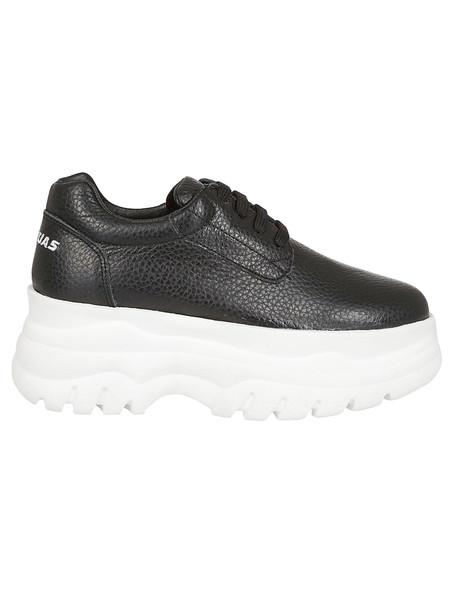 Joshua Sanders Classic Platform Sneakers in black