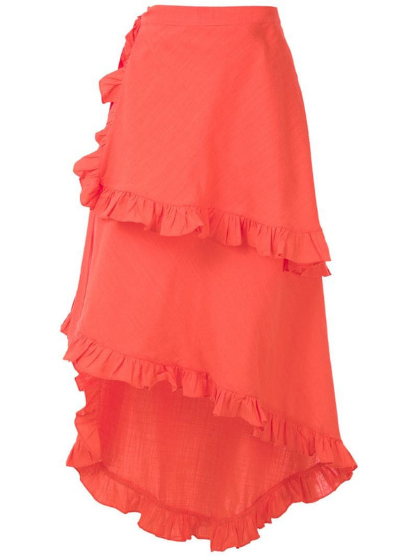 Clube Bossa Feine midi skirt in pink