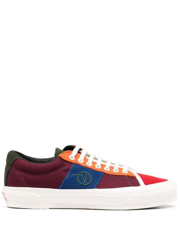 Vans OG SID LX colour-block sneakers in red
