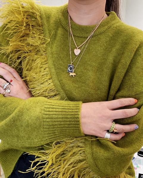 sweater jewels