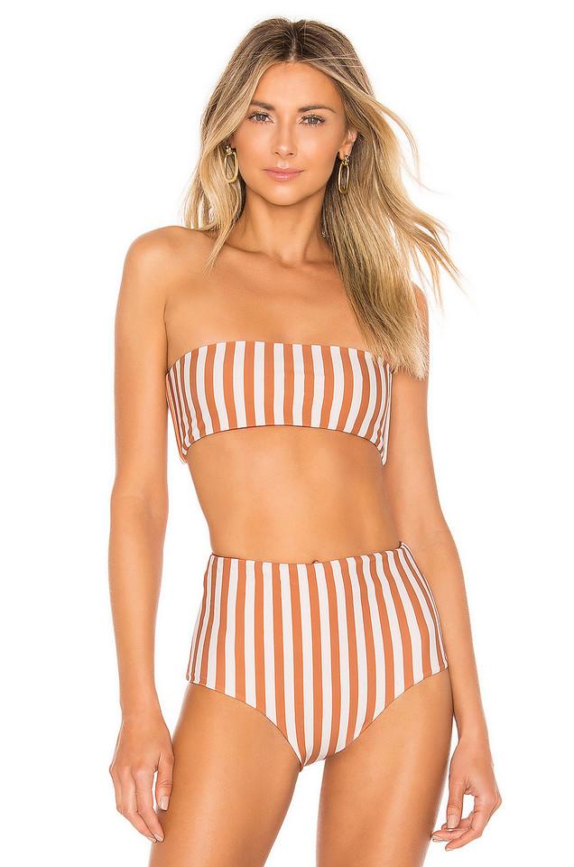 Storm Ravello Bikini Top in orange