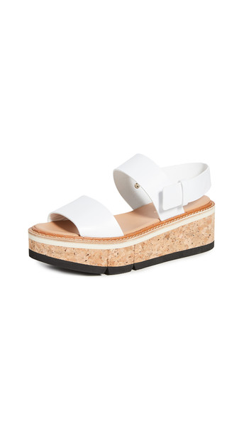 Paloma Barcelo Ivy Sandals in white