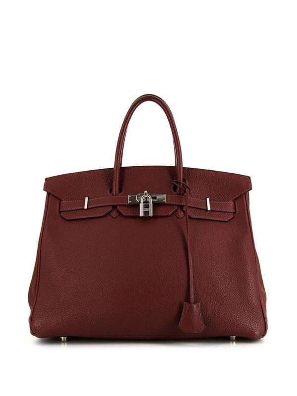 Hermès 2002 pre-owned Birkin 35 bag in red