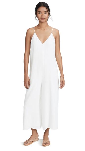 AYR Gauze Jumpsuit in white