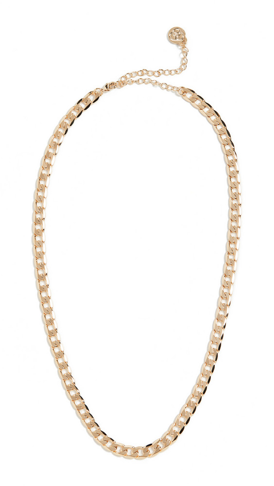 Cloverpost Base Necklace in gold / yellow