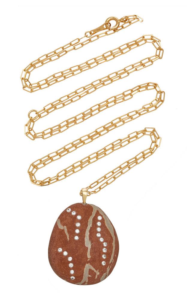 CVC Stones Devilish 18K Gold, Diamond And Stone Necklace in multi