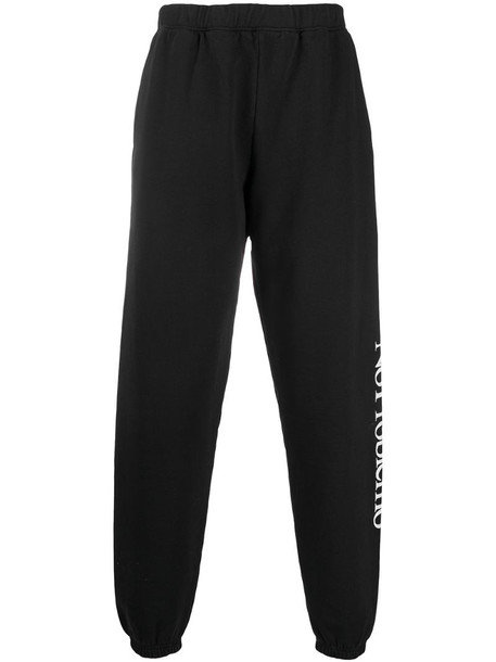 Aries No Problemo print track pants in black