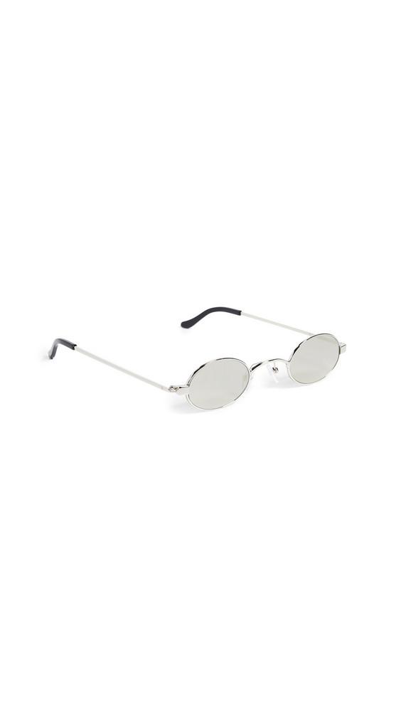 Roberi & Fraud Doris Sunglasses in silver
