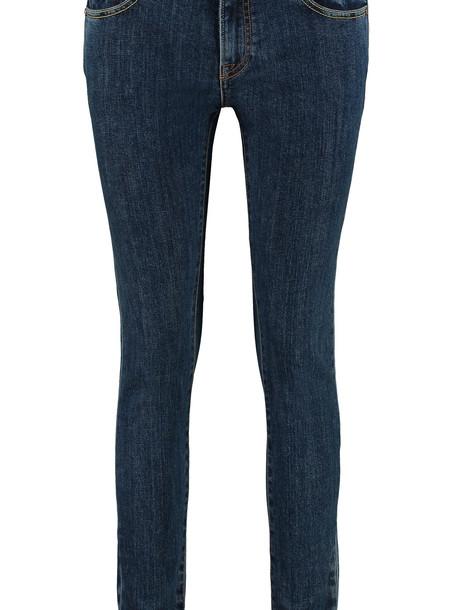 Burberry 5 Pocket Skinny Jeans in denim / denim