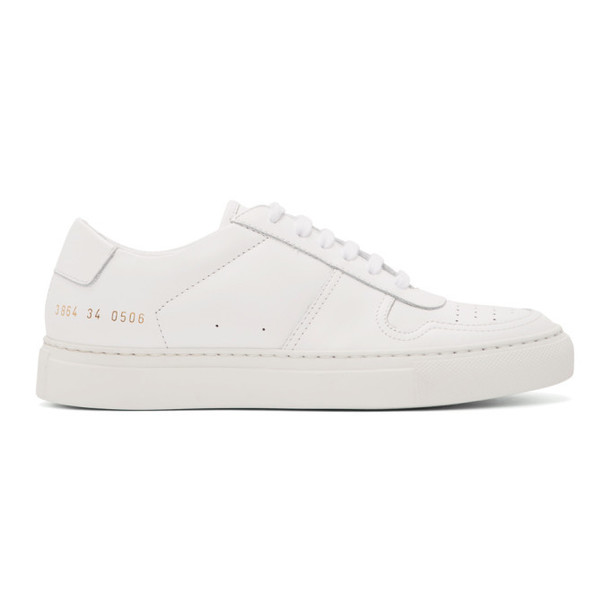 Woman by Common Projects White Full Court Sneakers