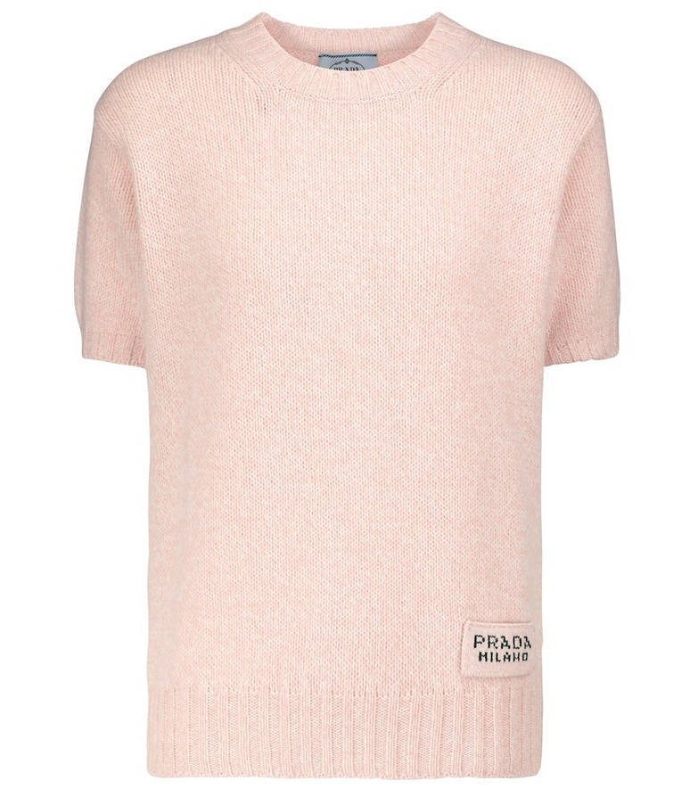 Prada Wool and cashmere sweater in pink