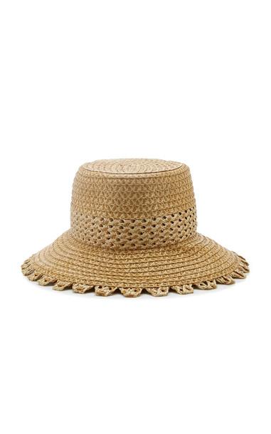 Eric Javits Squishee Mita Woven Hat in neutral