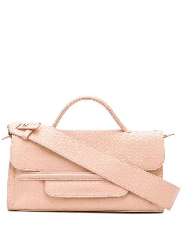 Zanellato wave shoulder bag in pink