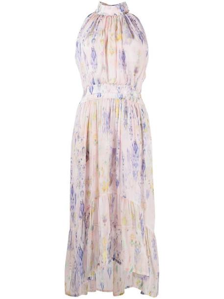 IRO floral-print sleeveless maxi dress in pink