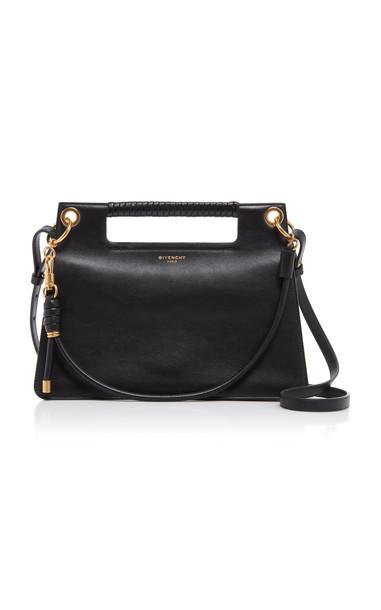 Givenchy Whip Leather Shoulder Bag in black