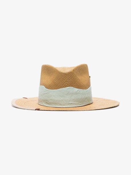 Nick Fouquet Nat Playa Verde woven-straw hat in neutrals
