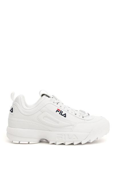 Fila Disruptor Sneakers in white