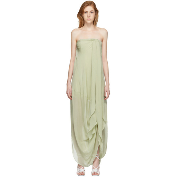 Jacquemus Green 'La Robe Asola' Dress