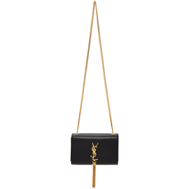Saint Laurent Black Small Kate Tassel Bag