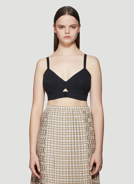 Burberry Cut-out Ava Bra Top size S in black