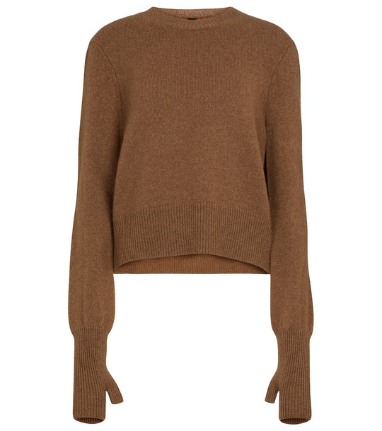 Petar Petrov Esther cashmere sweater in brown