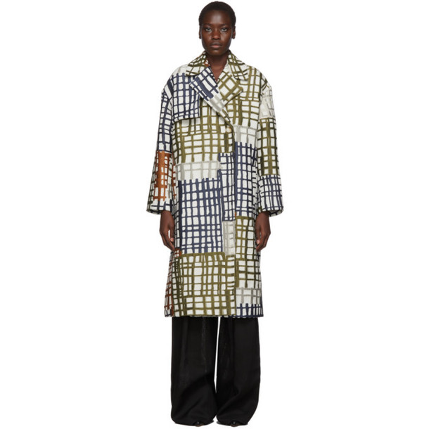 Jacquemus Multicolor Le Manteau Carreaux Coat